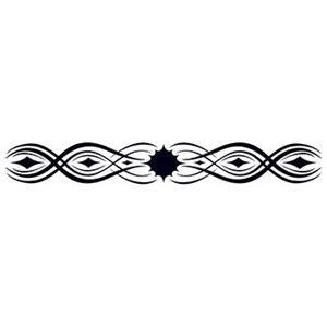 Tribal Star Armband Glow-in-Dark