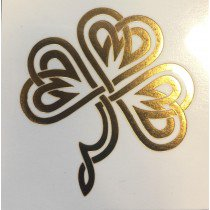 Gold Celtic Clover