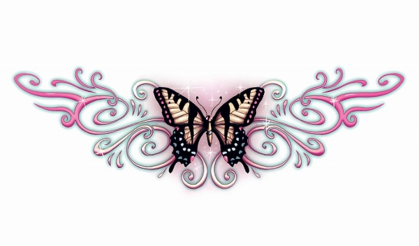 Butterfly lower back