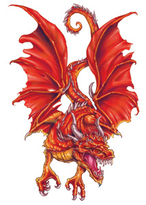 Red Ormarr Dragon