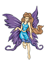 Purple Fairy 2