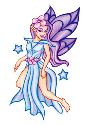 Purple Fairy 3