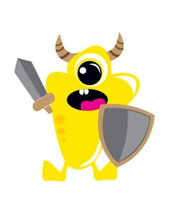 Yellow Monster with Sword