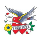 True Love Heart with Bird