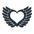 Winged Heart 2 (Glow In The Dark)
