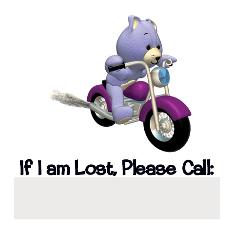 If Lost - Bear on Motorcycle