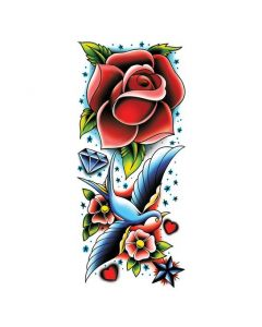 Rose and sparrow sleeve