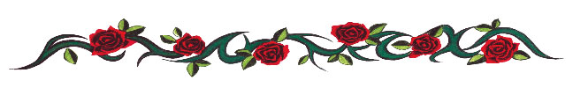 Red Rose Vine