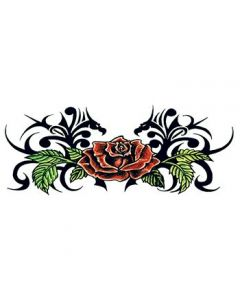 Tribal Rose lower back