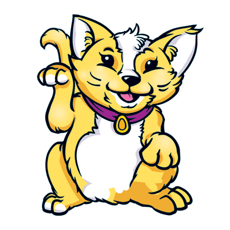 yellow cat 2
