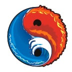 Yin Yang Fire and Water